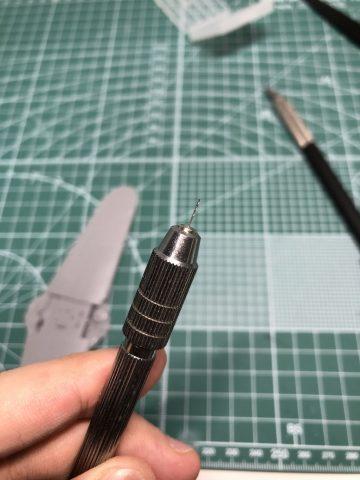 0.3mmのピンバイス