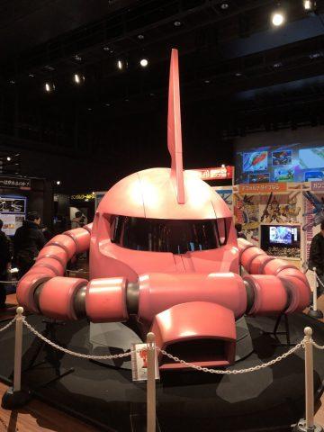 ガンダムワールド2019 in 博多に展示された実物大ザクの頭部