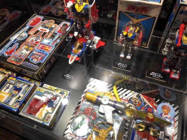 ガンダムワールド2019 in 博多に展示されたガンダムのおもちゃ