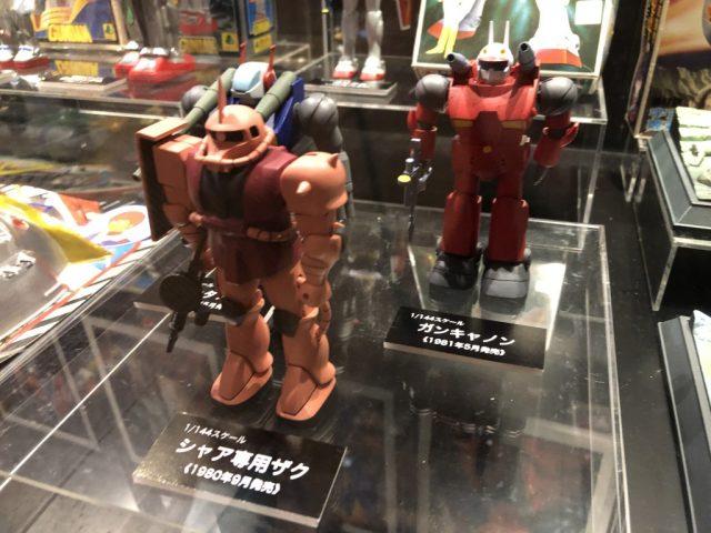 ガンダムワールド2019 in 博多に展示されたガンプラ旧キット
