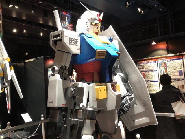 1/10 RX-78-02ガンダム立像【ガンダムTHE ORIGIN Ver.】